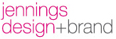 Jennings design brand logo